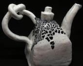Knot Just White Tiny Teapot