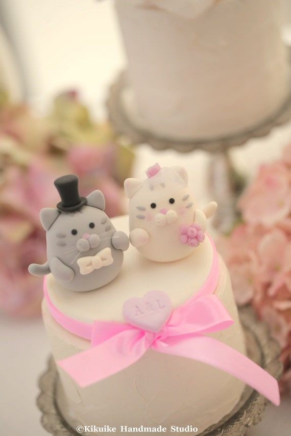 wedding cake toppers cats uk cat wedding cake topper kitty wedding cake topperpets 26435