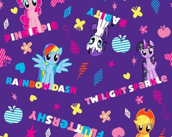 My Little Pony Body Size Pillowcase -Personalized