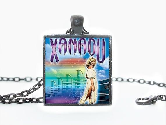 Xanadu Movie Olivia Newton John 1980s Pendant Necklace