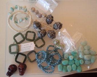 CLOSING SHOP! assortment of beads- my cost-  CSA-011