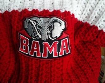 BAMA  Alabama Crimson Tide Football Hoodie for infant to size 5T