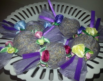 Candy Wrapper Style Lavender Sachet