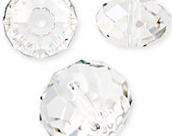 4mm Silver Shade Swarovski Elements crystal Rondelle Style 5040 (23)