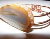 Tan Geode Bracelet