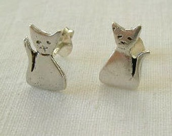 Pendientes gatitos /  little cat earrings