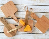 New Home Housewarming Gift, Mini Serving Board Set, Pure Hardwood Maple, Made in the USA, Cutting Boards, Just Married Gift, New Couple Gift