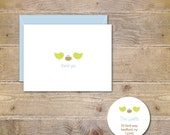 Baby Shower Thank You Cards . Baby Thank You Cards . Thank You Notes Baby - Thank You Notes - Our Little Chick