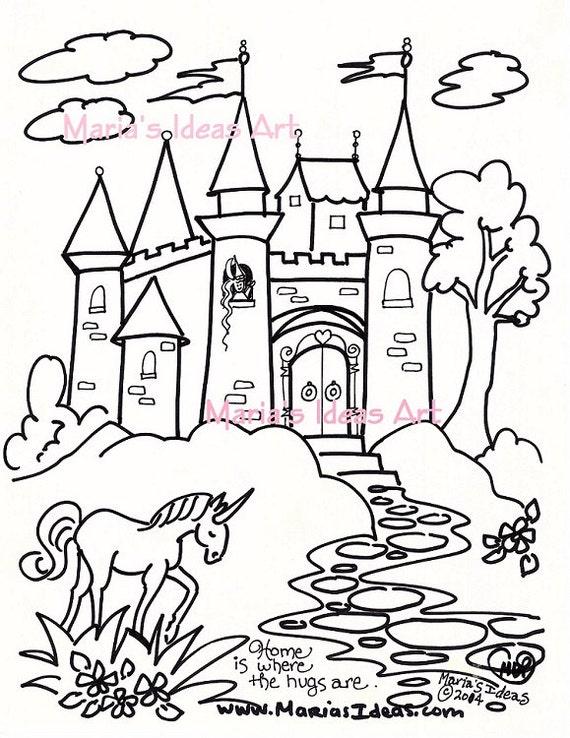 Malvorlagen Prinzessinnen Schloss My Blog