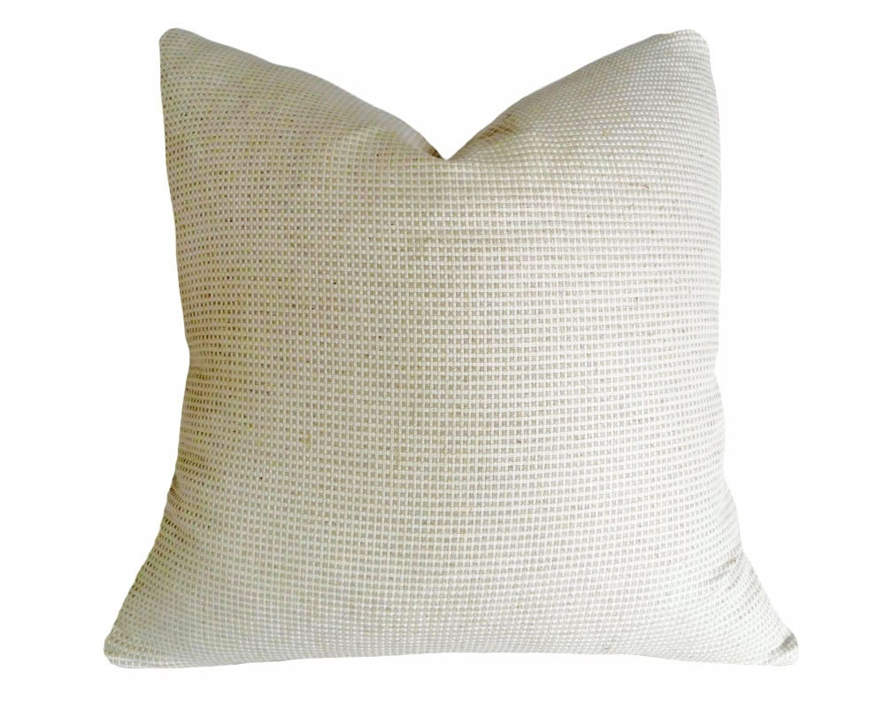 Decorative Cream Pillows : Cream Throw Pillows Neutral Decorative Pillow Covers Winter