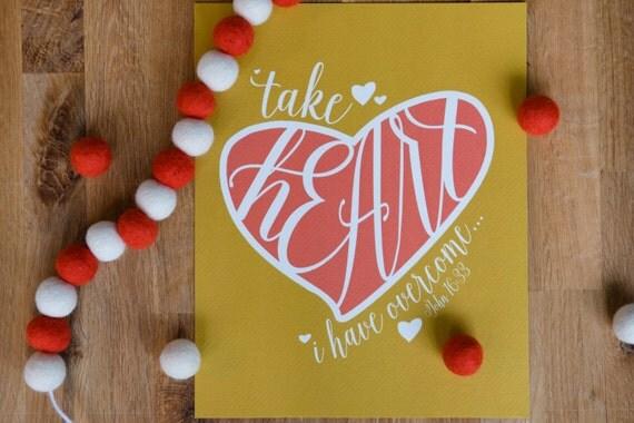 Take Heart - 8x10 Print