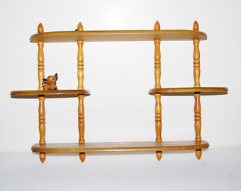 Vintage Shelf  Wall Rack French Cottage / Primitive / Country