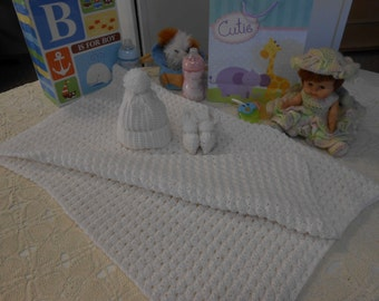 Christening Crocheted Baby Layette