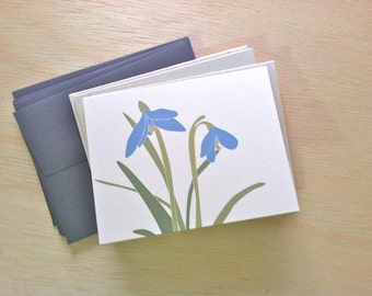 Snowdrop Card Pack