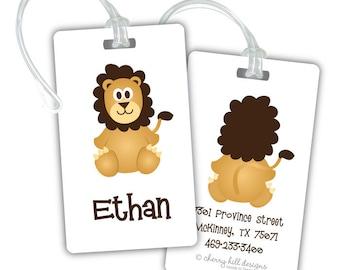 LION premium bag tag