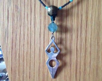 Silver Healing Spirit Goddess