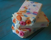 Fruit Loops Soap Bar, Homemade Soap, Cold Process Soap