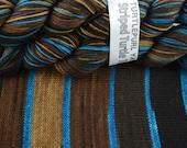 Save a Horse - Hand-dyed Self-striping sock yarn
