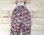 SUPER SALE - Overall in Pink Bicycles