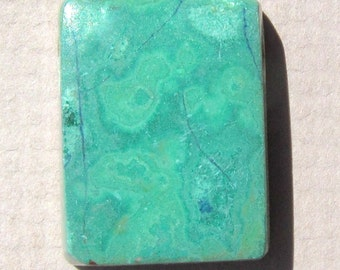 Drilled Malachite Pendant and/or Focal Bead