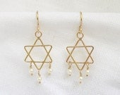 Gold Star of David and Pe...
