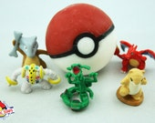 Pokeball Soap With Surprise Toy Inside, Invented by DigitalSoaps, Anime Geeky Gift