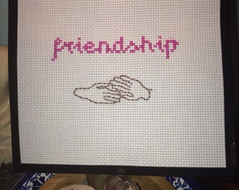 Dee's Friendship Ring cross stitch