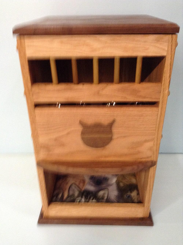 deluxe dog proof cat feeder bed. Black Bedroom Furniture Sets. Home Design Ideas