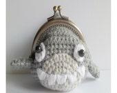 Amigurumi Crochet PDF Pattern  Download - Shark Coin purse