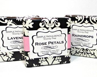 3 Soap Deal, Shea butter enriched soap, Pick your favorites