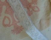 Vintage Antique Silky  and Lace Luxurious Trim