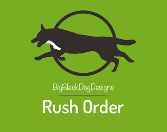 RUSH MY ORDER - 3 Business Day Processing (Read Below)