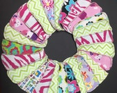 Set of 5 MamaBear LadyWear Quick-Dry cloth menstrual pads - Dailywear Wingless Pantiliners