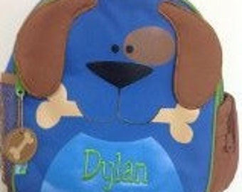 Personalized Stephen Joseph Mini Sidekicks Dog Backpack