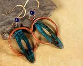 Copper Jewelry, Primitive, Celtic Style