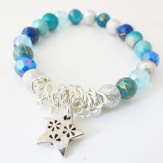 diy bracelet kit beaded stretch bracelet kit