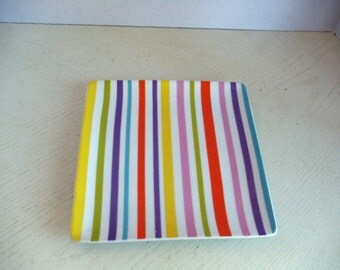 Striped Plate