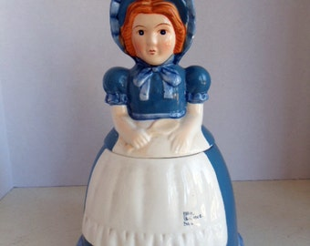 Blue Bonnet Sue Cookie Jar