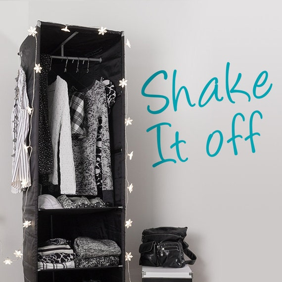 Shake It Off Vinyl Decal Teen Decor Taylor By