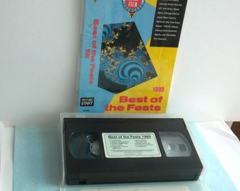 Best of The Fests Animation Video Shorts 1989 VHS Video Tape with Laminated Card