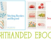 2 Embroidery Ebooks PDF - RIGHT HANDED