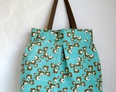Bright Buds Fabric Large Road Trip / Weekender Bag - READY TO SHIP