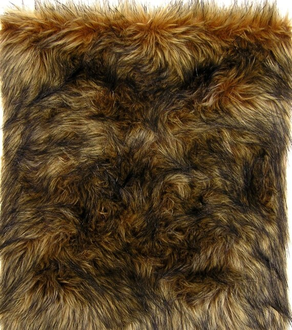 FUR SAMPLE: WOLF Fur Faux Fur Cat Furniture. High By