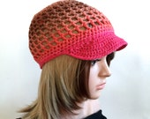 Tangerine Sunshine - Summer Collection - 100 Percent Cotton Ribbon Yarn -
