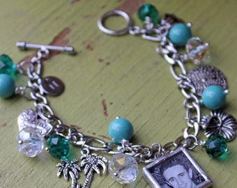 Photo gifts, anniversary gift, best friend bracelet, custom bracelet, photo jewelry, new grandma gift, push present