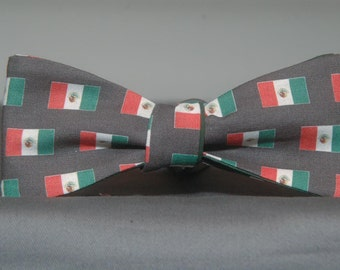 Mexican Flag  Bow tie