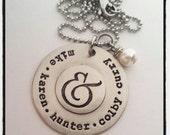 Bold Ampersand Necklace