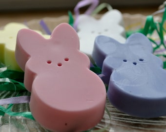 Marshmallow Easter Bunny Soap Set - Spring Soap - Easter Candy Soap - Soap for Kids