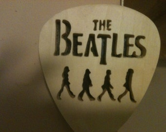Wooden Beatles wall hanging