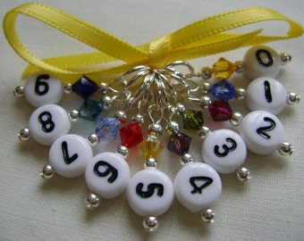 Count Your Stitches Stitch Markers for Knitting or Crochet